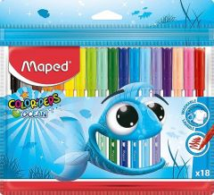 Carioca 18 culori/set Color Peps Ocean Maped