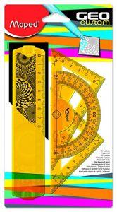 Set geometrie 4 piese GeoCustom Mini Maped