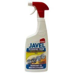 Degresant dezinfectant universal cu pulverizator 750ml, Javel Cleaning Foam Sano