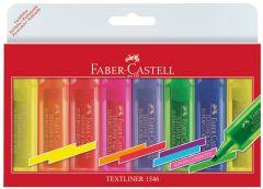 Textmarker superfluorescent 8 culori/set (2-galben, 1-roz, 1-albastru, 1-mov, 1-verde, 1-rosu, 1-por