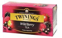 Ceai Twinings Wild Berry Tea, negru, 25plicuri/cutie