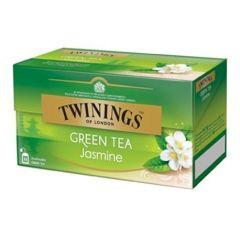 Ceai Twinings Green Tea Jasmine, verde cu iasomie, 25plicuri/cutie