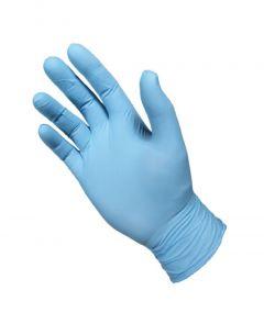 Manusi examinare din nitril, nepudrate, albastru, marimea L, 100 buc/set