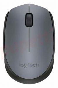 Mouse optic, wireless, gri, 3 butoane si 1 scroll, M170 Emea Logitech