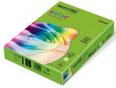 Hartie copiator A4, 80g, colorata in masa verde (spring green), Maestro