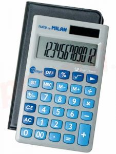 Calculator de buzunar 12 digit, Milan 150512