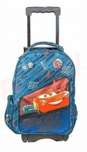 Ghiozdan troler clasele I-IV, CARS1768-T, albastru, Cars Pigna