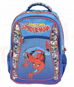 Ghiozdan scolar clasele I-IV, SMRS1865-2, albastru, Comics Spiderman Pigna