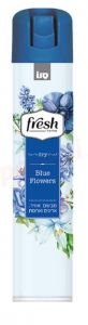 Odorizant spray pentru camera si tesaturi, parfum blue flowers, 375ml, Fresh Dry Sano