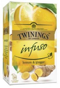 Ceai Twinings Infuso, Ginger&Lime, 20plicuri/cutie