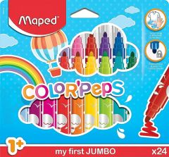 Carioca 24 culori/set Color Peps My First Jumbo Maped
