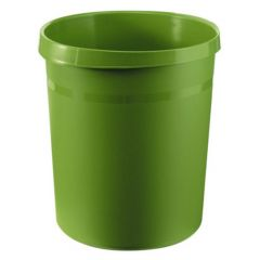 Cos plastic pentru gunoi, verde, 18L, Han Grip