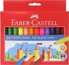 Carioca 24 culori/set Jumbo Faber Castell-FC554324