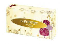 Servetele faciale in cutie, albe, 2 straturi, 100 buc/set, Prestige Wepa