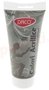 Culori acril, tub 200ml, umbra naturala, Daco