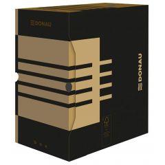 Cutie pentru arhivare 340x300x155, negru/kraft, Donau