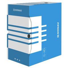 Cutie pentru arhivare 340x300x155, albastru/alb, Donau
