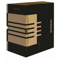 Cutie pentru arhivare 340x300x200, negru/kraft, Donau