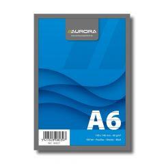 Blocnotes capsat A6, 100file, dictando Aurora Office