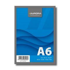 Blocnotes capsat A6, 100file, matematica Aurora Office