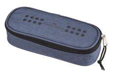 Penar neechipat, 1 fermoar, 1 extensie, albastru, Grip Faber Castell-FC573051