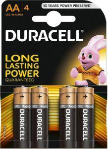 Baterie alcalina, cilindrica, R6, AA, 4buc/set, Duracell