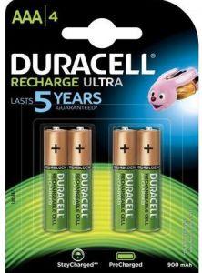 Acumulator reincarcabil, 1,2V, 900mAh, AAA, R3, 4buc/set, Duracell