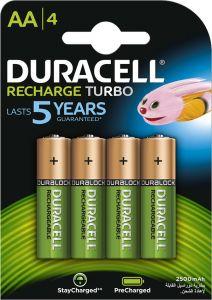 Acumulator reincarcabil, 1,2V, 2500mAh, AA, R6, 4buc/set, Duracell