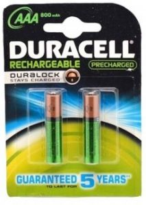 Acumulator reincarcabil, 1,2V, 850mAh, AAA, R3, 2buc/set, Duracell