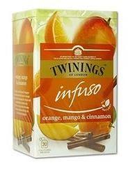 Ceai Twinings Infuso, Orange, Mango&Cinnamon, 20plicuri/cutie