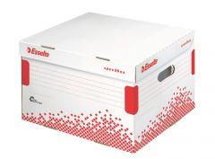 Container arhivare cutii de arhivare, cu capac L, 433x263x364 mm, Speedbox Esselte