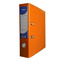 Biblioraft plastifiat 7,5cm, portocaliu, Noki