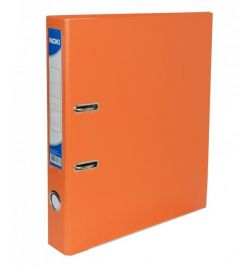 Biblioraft plastifiat 5cm, portocaliu, Noki
