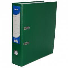 Biblioraft plastifiat 5cm, verde, Noki