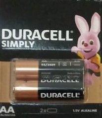 Baterie alcalina, cilindrica, R6, AA, 2buc/set, Duracell