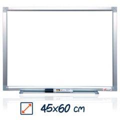 Whiteboard magnetic, 45cm x 60cm, Visual