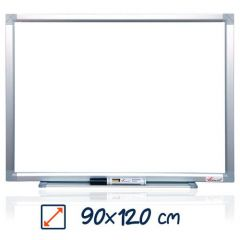 Whiteboard magnetic, 90cm x 120cm, Visual
