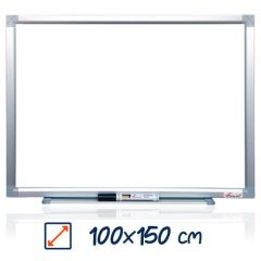 Whiteboard magnetic, 100cm x 150cm, Visual