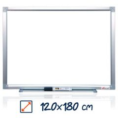 Whiteboard magnetic, 120cm x 180cm, Visual