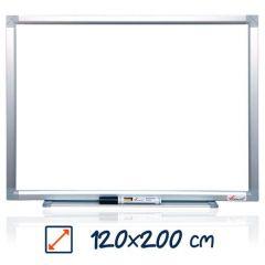 Whiteboard magnetic, 120cm x 200cm, Visual