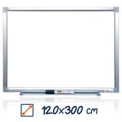Whiteboard magnetic, 120cm x 300cm, Visual