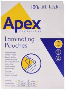 Folie de laminator, A4, 75/80 microni Apex