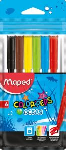 Carioca 6 culori/set Color Peps Ocean Maped