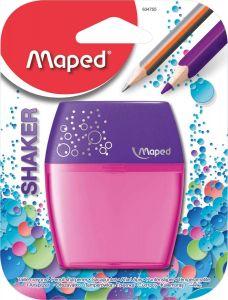 Ascutitoare dubla, roz, blister Shaker Maped