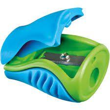 Ascutitoare dubla cu rezervor, albastra/verde Boogy Maped