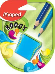 Ascutitoare dubla cu rezervor albastra/verde blister Boogy Maped