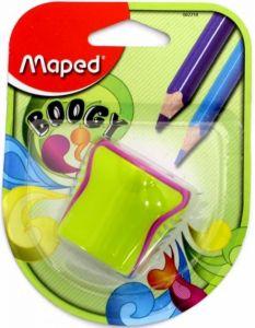 Ascutitoare dubla cu rezervor verde/roz blister Boogy Maped