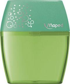 Ascutitoare dubla, verde, Shaker Maped