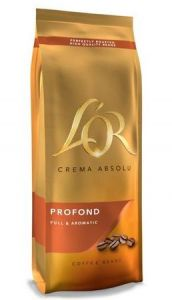 Cafea L'OR Crema Absolu Profond, boabe, 500g