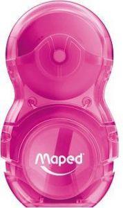 Ascutitoare cu guma, roz, Loopy Maped